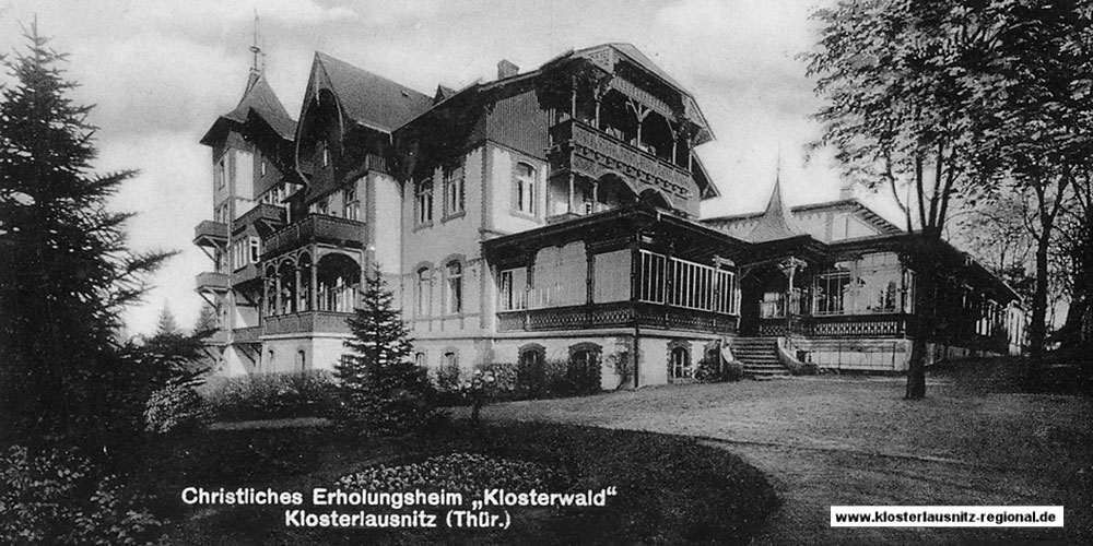 Geschichte der Fachklinik Klosterwald