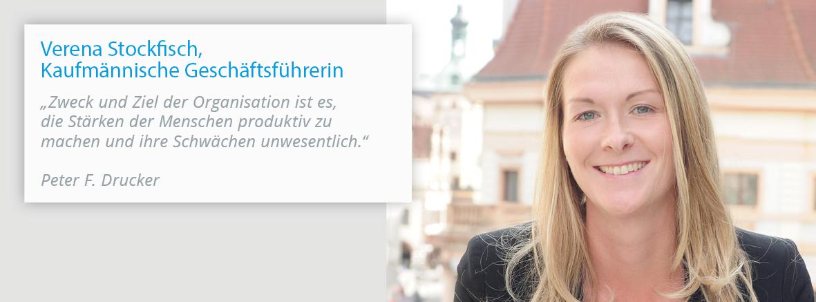 Verena Stockfisch, Kaufmännische Geschäftsführerin der Fachklinik Klosterwald
