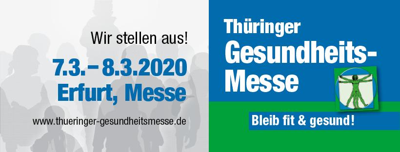 Aussteller auf Thüringer Gesundheitsmesse